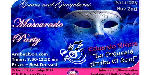 Mascarade Ball - Gowns & Guayavera - Latin Dance - Sat. Nov 2