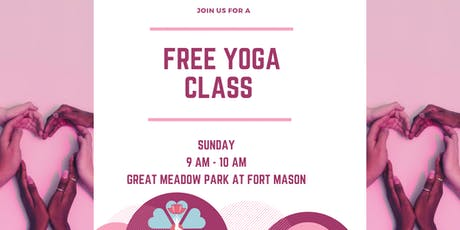 Free Yoga at Fort Mason tickets