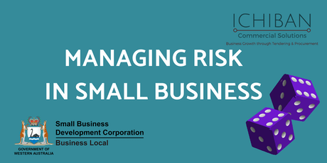 Managing Small Business Risk 23 Oct 19 tickets