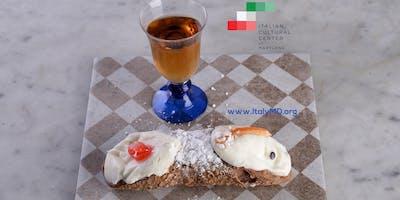 An Italian Afternoon (Un pomeriggio Italiano): Vino e Cannoli