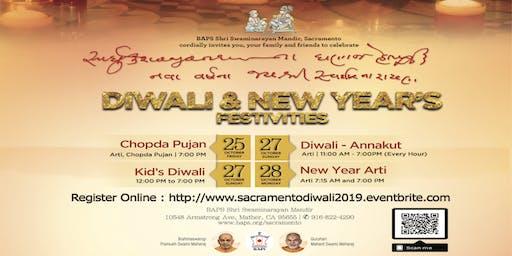 Diwali & Annakut Celebration 2019, Sacramento