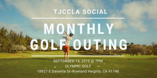 September Monthly Golf Outing with TJCCLA