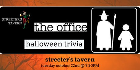 The Office *HALLOWEEN EPISODES* Trivia at Streeter's Tavern tickets