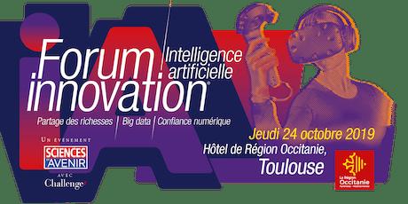Forum Innovation / Intelligence artificielle tickets