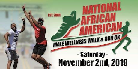 National African American Male Wellness 5K Walk & Run - Charlotte, NC tickets