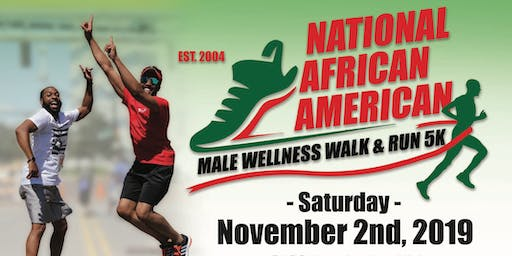 National African American Male Wellness 5K Walk & Run - Charlotte, NC
