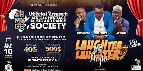 Official Launch African Heritage Music And Dance Society tickets