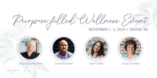 Young Living Purpose-filled Wellness Event