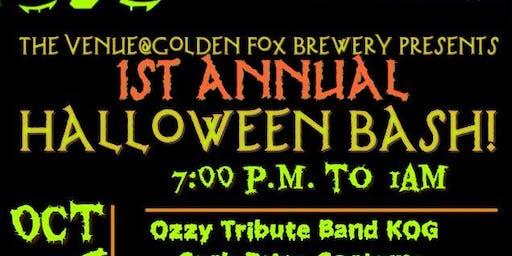 The Venue's 1st Annual Halloween Bash
