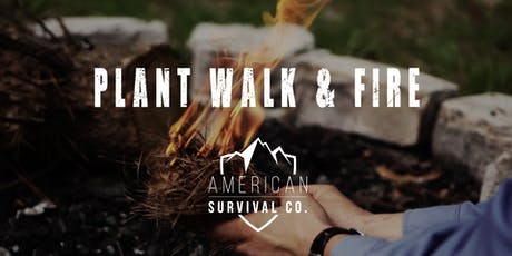 Plant Walk & Fire Starters - AR tickets