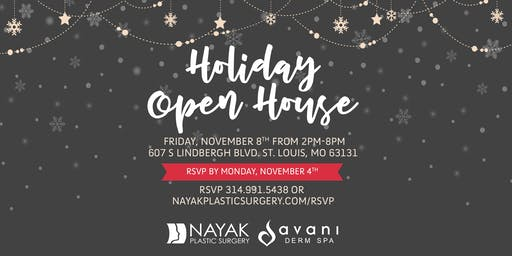 Nayak Plastic Surgery & Avani Derm Spa's Annual Holiday Open House 2019!