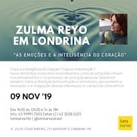 Zulma Reyo em Londrina: As emoções e a inteligência do coração