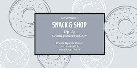 Snack & Shop tickets
