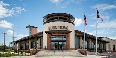 Bexar County Presiding & Alternate Judges ExpressVote Equipment Training for November 5, 2019 General Election Day