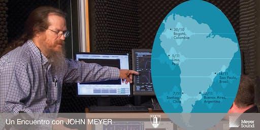 Un Encuentro con JOHN MEYER   Buenos Aires 2019