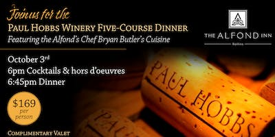 Paul Hobbs Winery Five-Course Dinner