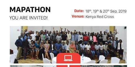 Kenya Red Cross Mapathon tickets
