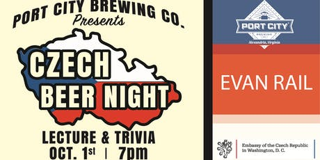 Czech Beer Night - Lecture and Trivia tickets