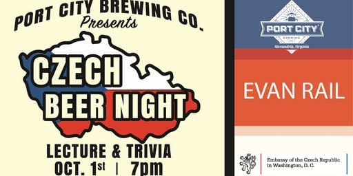 Czech Beer Night - Lecture and Trivia