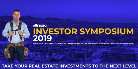 REKI 2019 Investor Symposium tickets