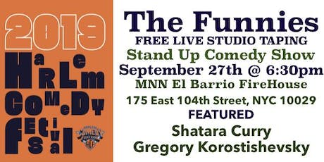 """Harlem Comedy Festival 2019 """"The Funnies"""" tickets"""
