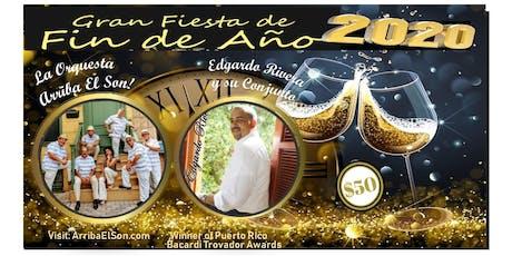 Gran Fiesta de Fin de Ano - New Years Eve Party - Latin Fiesta entradas