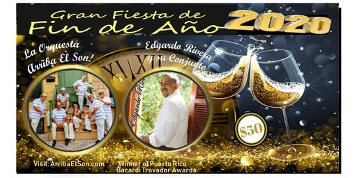 Gran Fiesta de Fin de Ano - New Years Eve Party - Latin Fiesta