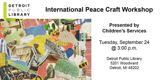 International Peace Craft Workshop