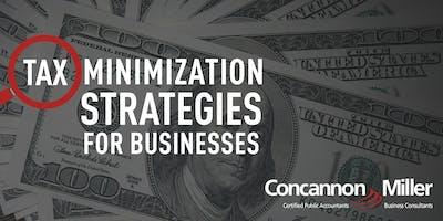 Tax Minimization Strategies for Businesses