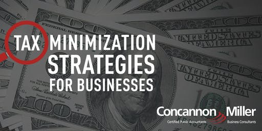 Tax Minimization Strategies for Businesses