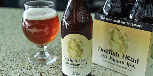 Limited Beer Release!  DogFish Head 120 Minute.