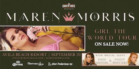 Maren Morris - GIRL: The World Tour tickets