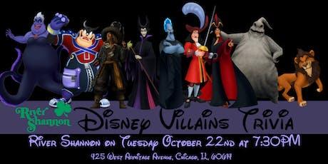 Disney Villains Trivia at River Shannon tickets