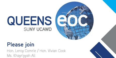 Queens EOC Community Engagement tickets