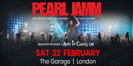 Pearl Jamm (Special guests, Alice in chains UK) tickets