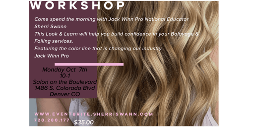 Balayage & Foiling Workshop