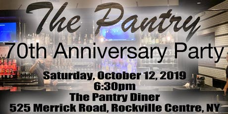 The Pantry RVC - 70th Anniversary Party and Documentary tickets