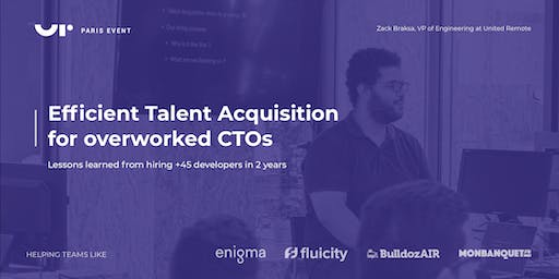 Efficient Talent Acquisition for Overworked CTOs