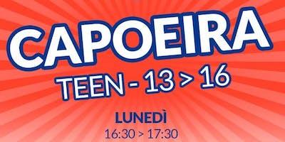 Lezione gratuita di capoeira (13-16anni)