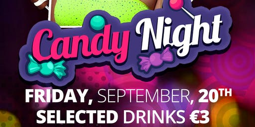 Candy Night  at Tramline