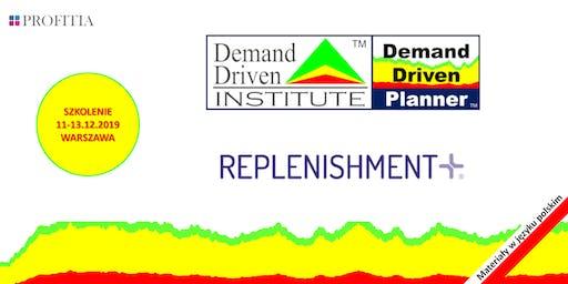 Demand Driven Logistics Planning oraz prezentacja Replenishment+ (3 dni)