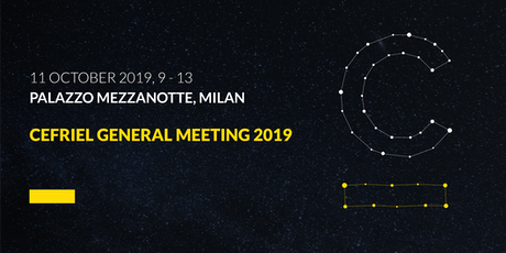 Cefriel General Meeting 2019 biglietti