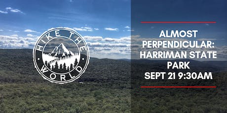 Almost Perpendicular: Harriman State Park tickets