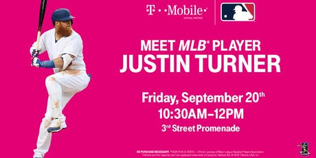 LA Dodgers Justin Turner Player Appearance (First come first served) tickets
