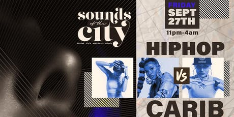 HIP HOP vs CARIB NYC W/ Free Adm + 1 Hr Open Bar tickets