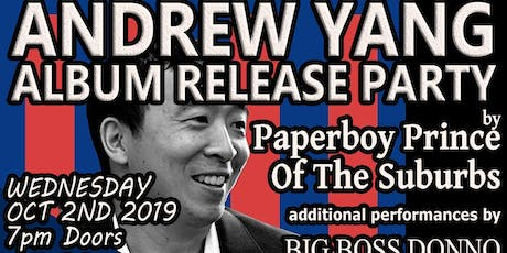 Paperboy Prince of the Suburbs tickets