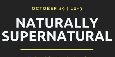 Naturally Supernatural tickets