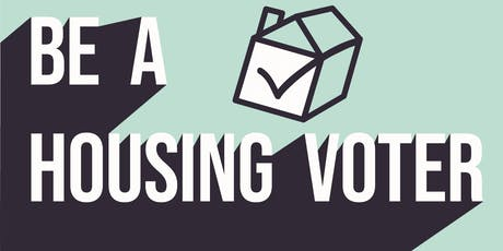 Housing Voter Forum October 2019 tickets