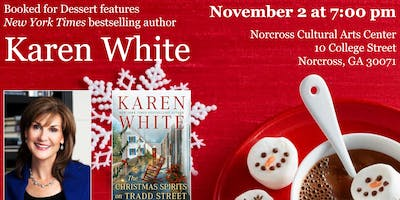 Booked for Dessert features NYT Bestselling Author Karen White