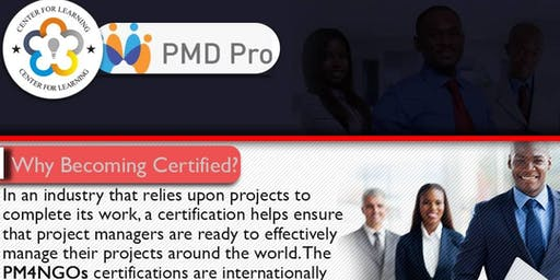 PMD Pro Is A Project Management Certification Scheme Designed For Ngos